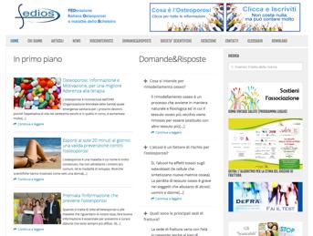 FEDIOS – FEDerazione Italiana Osteoporosi e malattie dello Scheletro