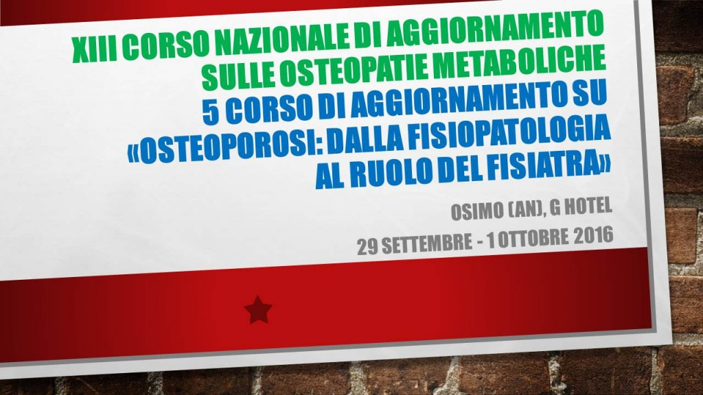 Osteoporosi Osimo