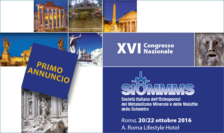 Congresso Nazionale SIOMMMS 2016, save the date