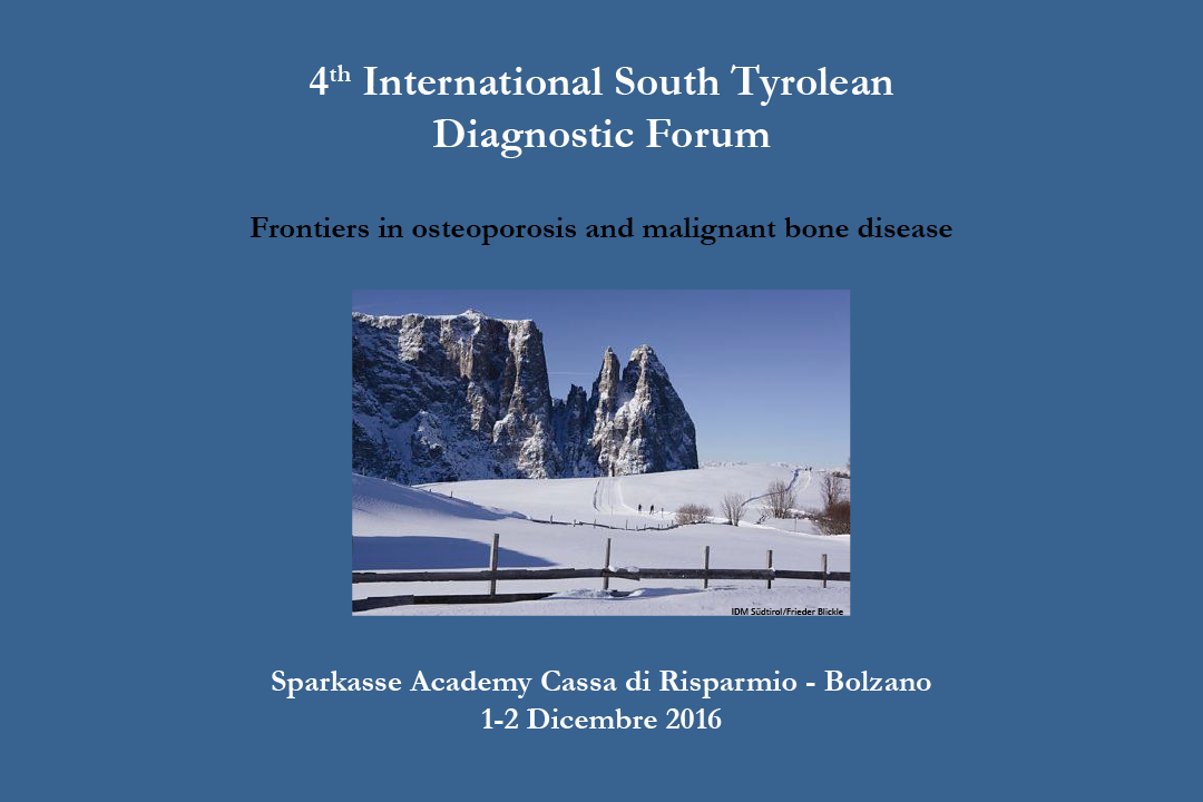 4th International South Tyrolean Diagnostic Forum