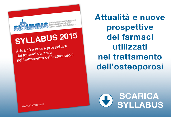On line il Syllabus SIOMMMS 2015