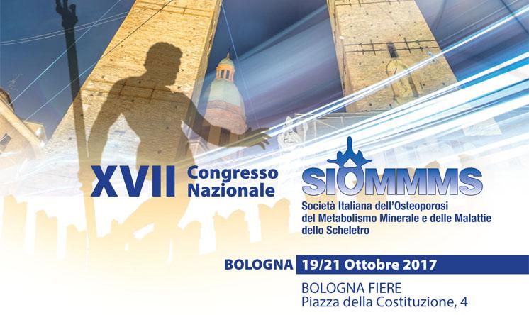XVII congresso nazionale SIOMMMS: Bologna 19-21 ottobre. Save the date