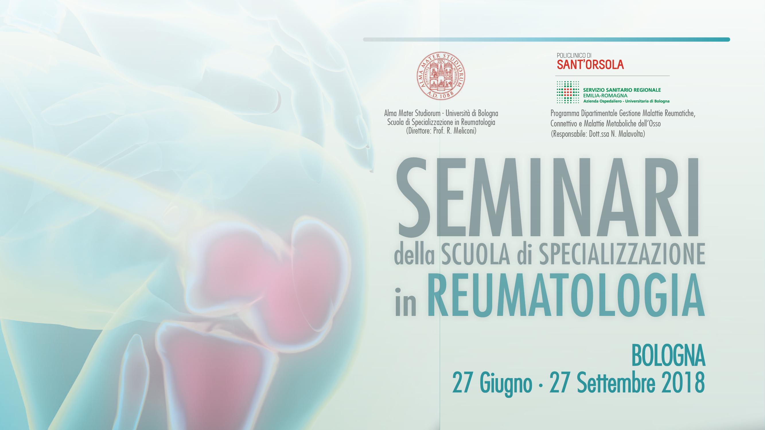 Seminari della scuola di specializzazione in Reumatologia
