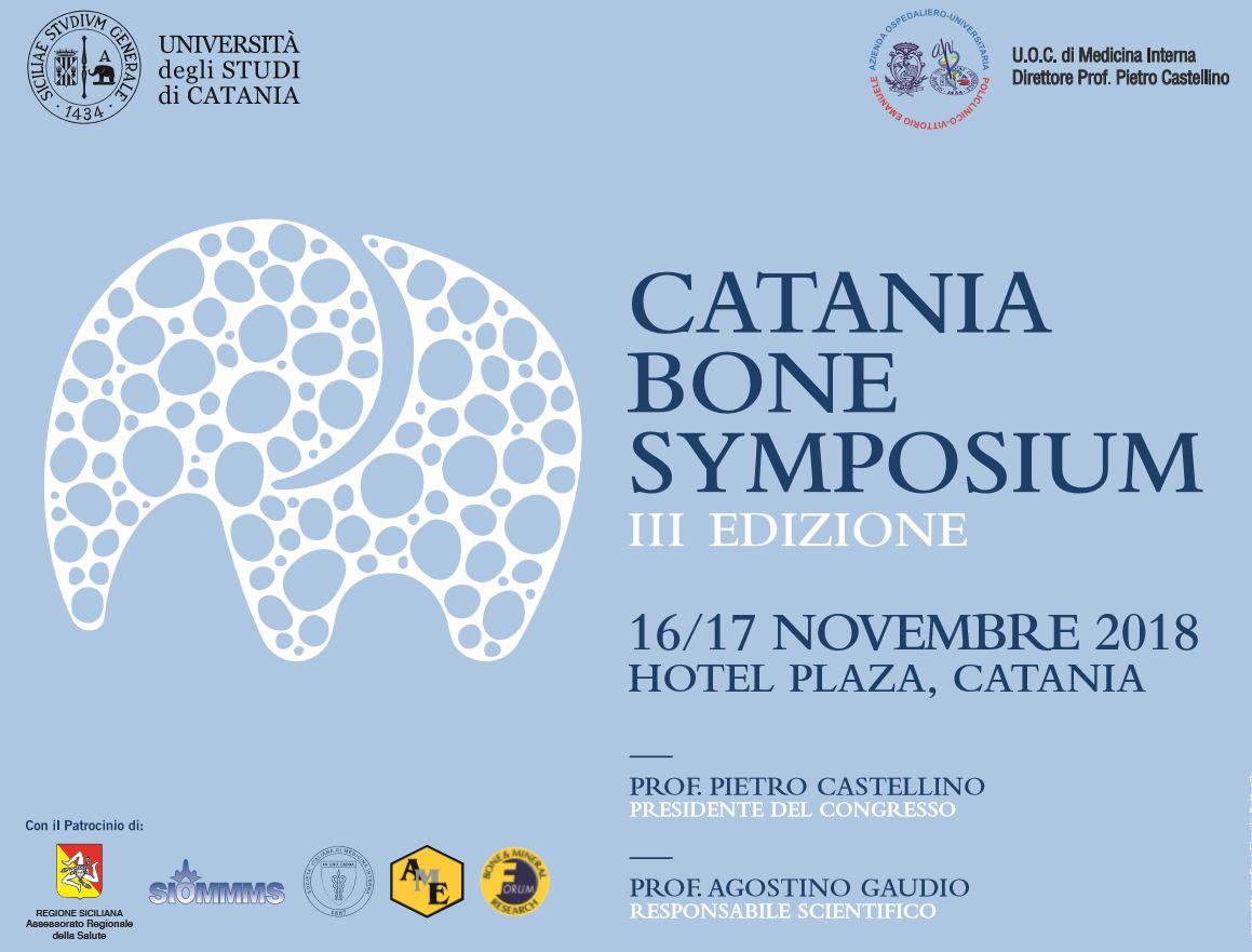 CATANIA BONE SYMPOSIUM - III Edizione