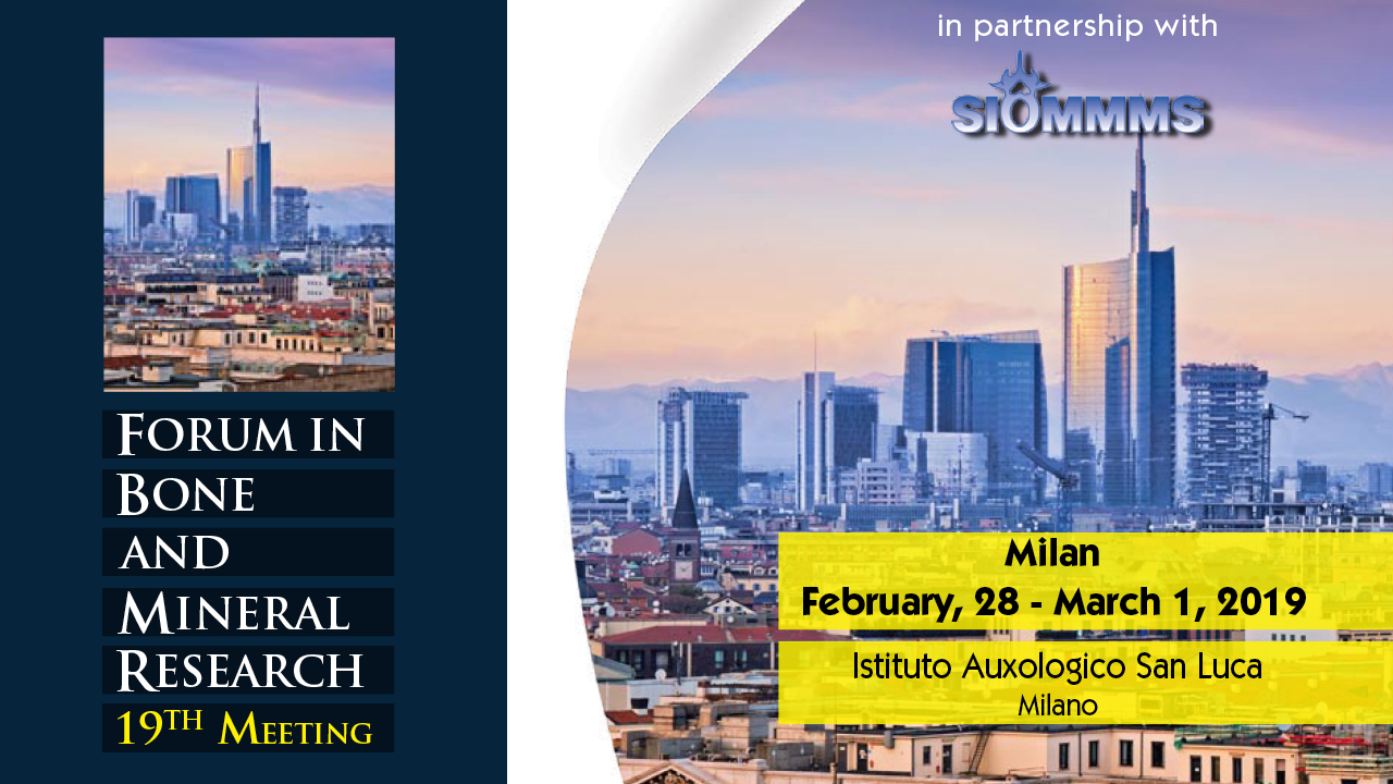 Forum in bone and mineral research - 19th Meeting