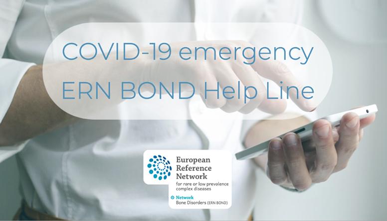 Covid-19, UNIAMO a fianco della Help line europea per le malattie ossee rare