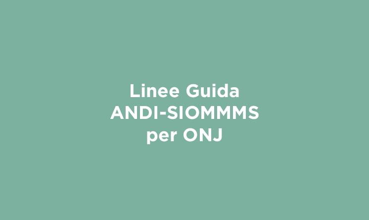Linee Guida ANDI-SIOMMMS per ONJ
