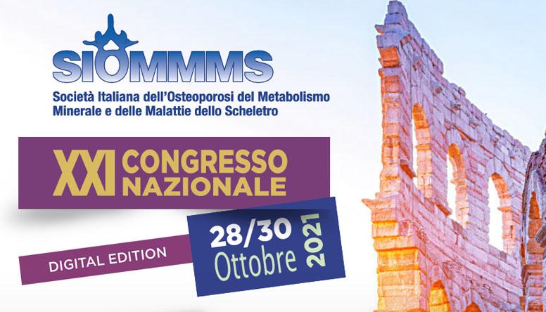 """Congresso SIOMMMS 2021: anche se """"ibrida"""" prepariamoci a una grande edizione"""