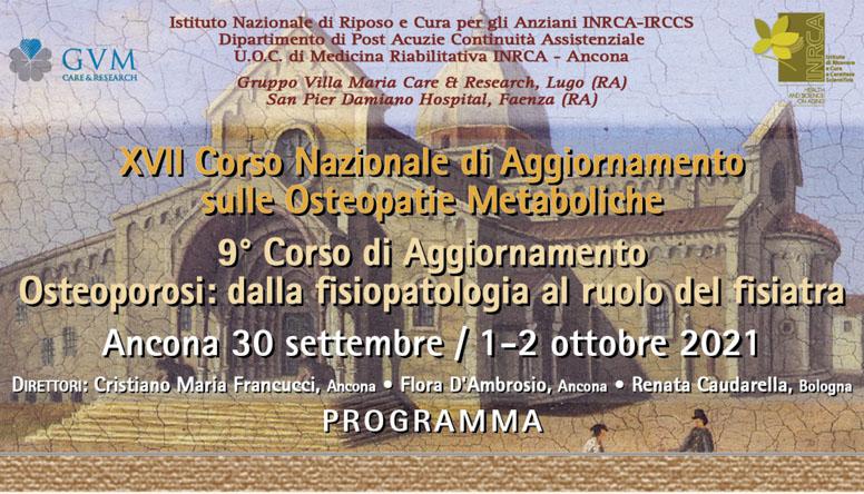 XVII Corso Nazionale di Aggiornamento sulle Osteopatie Metaboliche